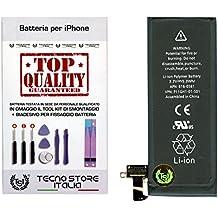 TSI® Batería compatible con iPhone 4S, Capacidad 1430 mAh APN 616 - 0581 / 616-0582, + Tool Kit Desmontaje, doble cara y instrucciones