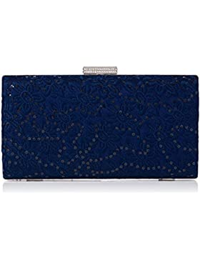 Quiz Damen Lace SequinBox Clutch