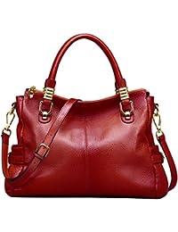 Jack&Chris Ladies Handbags and Purses Tote Bag for Women Leather Shoulder Bag,WB517