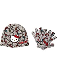 Hello Kitty H11F4046 Girl's Hat anf Glove Set