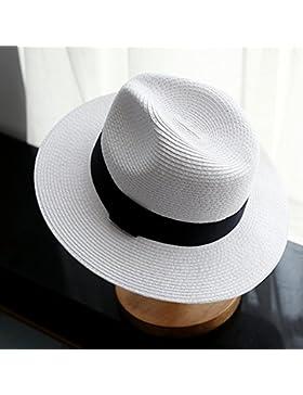FEIFEI estate Outdoor da uomo Cappellino protezione solare realizzato a mano Pieghevole Casual Cappello a tesa...