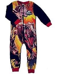 Pijama de forro polar para niños, todo en uno, tamaño 18 meses, 2, 3, 4, 5, 6, 7, 8, 9 y 10 años
