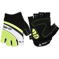 ef2793365 Deko Sports Fingerless Cycling Gloves Road MTB BMX Anti Slip Gel Padded  Breathable Mesh