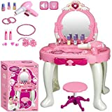 Shreeji Glamour Princess Dressing Table With Light And Sound Special For Gift