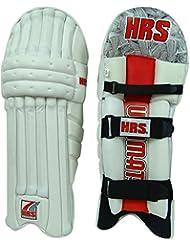 HRS ultime professionnel en cuir PU Poids léger droit Wicket Keeping Leg Guard