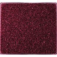 Glassteine 2-4 mm Glas Granulat Sand 0,3 kg BURGUND 03 GLASNUGGETS 300 g