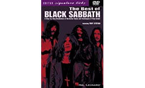 Stetina, Troy: THE BEST OF BLACK SABBATH - Guitar Signature Licks DVD (DVD)