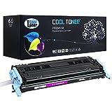 Cool Toner Compatible Q6003A Cartucho de Toner Compatible para HP Color LaserJet 2600N 1600 2605N 2605DN 2605DTN CM1015 MFP CM1017 MFP, Magenta