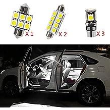 Cobear para Octavia RS Super Brillante Fuente de luz LED Interior Lámpara de Coche Bombillas de