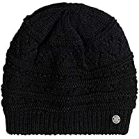 Roxy Girl Challenge Gorro, Mujer, Negro (Anthracite Solid), Talla Única