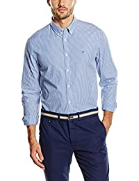 Tommy Hilfiger Men's IVY Striped Long Sleeve Casual Shirt