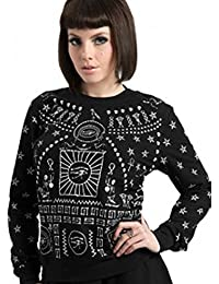 Egyptian Skulls Occult Jumper