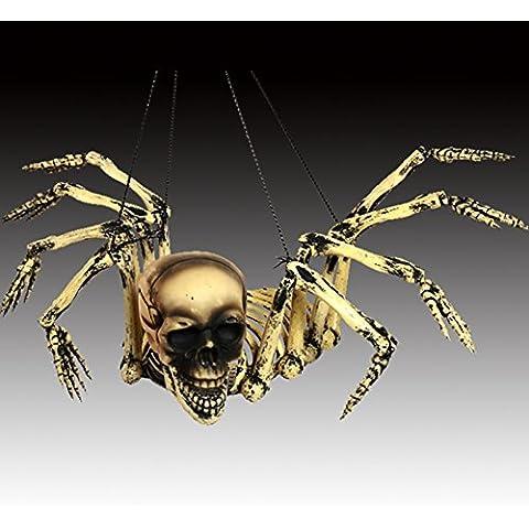 SLG Suministros de Halloween de Halloween/KTVFrecuentados decoración apoyos de barra casa/Cráneo esqueleto fantasma colgando/fantasma Octopussy-A
