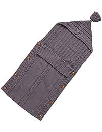 DORA Pocket recién nacidos Chaqueta de punto para saco de dormir Baby Wrap Swaddle techo