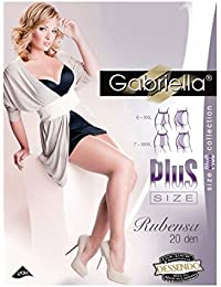 Gabriella Plus Size Classic 20 DEN Größe 6/XXL