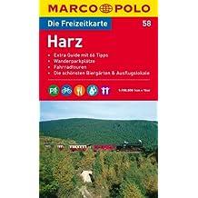 MARCO POLO Freizeitkarte Harz 1:100.000