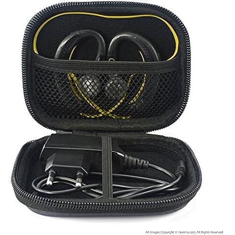 Deportes Bluetooth inalámbrico auriculares Funda de transporte, Fit Jabra Sport Plus, pulse, paso, Rox y muchos otros/sudor inalámbrico auriculares de entrenamiento funda de transporte