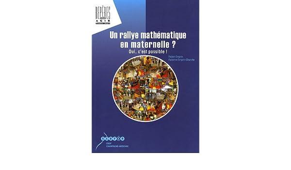 Un rallye mathématique en maternelle oui c'est possible