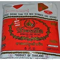 L'ORIGINAL thaï Thé glacé Mélange ~ Numéro un Mondial (Import Thaïlande. 400g Sac Idéal pour les restaurants qui veulent pour servir authentique et haute qualité thaï thés glacés.