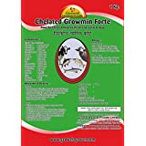 Growel Chelated Growmin Forte Minerals Mixture For Cattle,Farm Animals,Poultry , Birds & Aqua - 1 Kg
