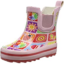 Beck Memory - botas de goma forradas y de caño bajo de goma niña