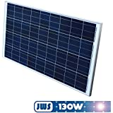 Jws - Panel solar 130w 12v policristalino [importado de alemania]