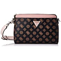 Guess Womens Cross-Body Handbag, Brown/Blush - SP729114