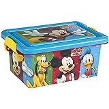 ColorBaby - Caja ordenación 3,7 litros, diseño mickey mouse (76595)