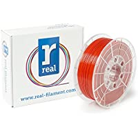 Real Filament 8719128328904 Real PETG, Spool of 1 kg, 1.75 mm, Opaque Red - ukpricecomparsion.eu