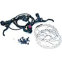 Clarks M2 Front and Rear Hydraulic MTB Hybrid Bike IS Disc Brake Set with 160mm Rotors