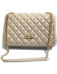 Borsa Donna Chanel Trapuntata con Patta | Love Moschino | JC4200PP05KA000B-Nero/Oro