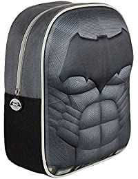 BATMAN Mochila 3D Batman Negro 33 cm