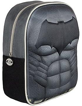 Batman Mochila 3D Negro 33 cm