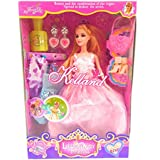 Zaid Collections Dolls With 2 Dress,1 Purse,1 Pair Earring 1 Pair Shoe Lots Of Fun Best Toys For Girls