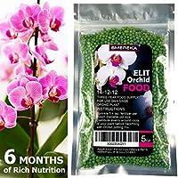SMEREKA Fertilizzante per Orchidee a Lunga Durata d'Azione - nutrizione Completa Fino a 6 Mesi: per Tutti i Tipi di Orchidee - 143 Grammi