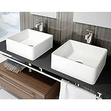 LAVABO SOBRE ENCIMERA ART&BATH APIS 380X380X130