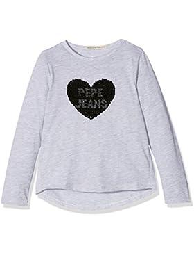 Pepe Jeans London Bellita Jr, T-Shirt Bambina