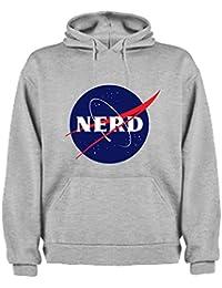 Sudadera de Hombre Nerds Geek Divertidas NASA The Big Bang Theory 67dedc754ad