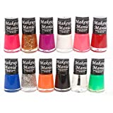 Makeup Mania Trendy Colors Nail Polish Enamel Combo (Multicolor No.73, Pack of 12)