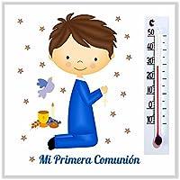 Detalles, Recuerdos y Regalos de Comunión Para Invitados - Imanes con termómetro - Originales -