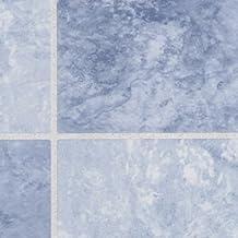 Maurer 5540515 - Lamina adhesiva azulejos azules 45 cm x 20 metros