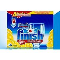 Calgonit finish Powerball Alles-in-1 Tabs Lemon 26 Stück (AA) preisvergleich bei billige-tabletten.eu