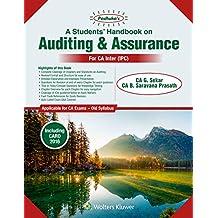 Padhuka's Students Handbook on Auditing & Assurance: for CA Inter/IPC Old Syllabus