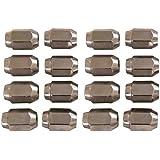 16 Pack of Chrome Lug Nuts 1/2-20 Size Club Car & EZGO Golf Carts by GPD