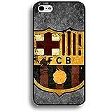Logotipo del equipo de fútbol de Barcelona Funda para iPhone 6/iPhone 6s (4.7inch), Barcelona FC teléfono Carcasa, futbol club barcelona funda, compatible con Apple iPhone 6, color multicolor