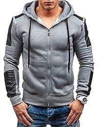 BOLF – Sweat-shirt à capuche - Pull de sport – J.STYLE Y06 - Homme