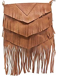 Generic Women's Sling Bag (Brown, 6643-Brown)