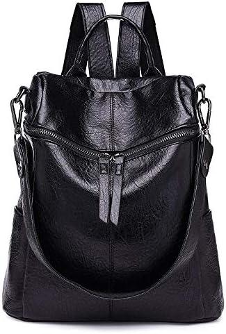7fd95e6642 Relddd Borsa in Pelle Pelle Pelle da Donna Moda Pu Zaino Multifunzionale  Crossbody Bag Light Small Pack di Viaggio 30x15x28cm | Abile Fabbricazione  | Moda ...