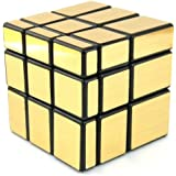 EASYTAR 3 x 3 Mirror Speed Cube Puzzle, Golden