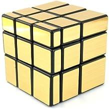 EASYTAR 3 x 3 Mirror Speed Cube Puzzle, Golden